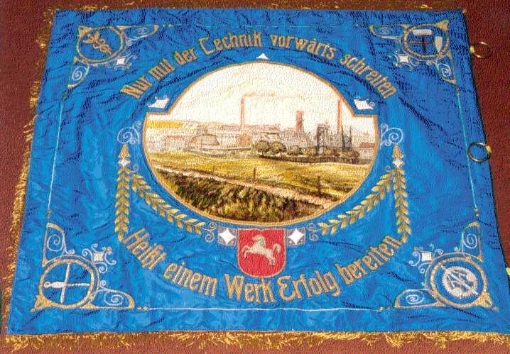 Fahne des Bergmannvereins